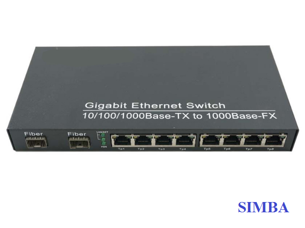 SFP To Ethernet Switch